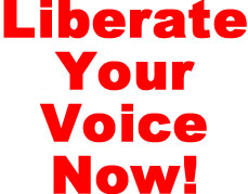 liberate your voice