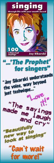 Singing Through Life Fan Book sidebar