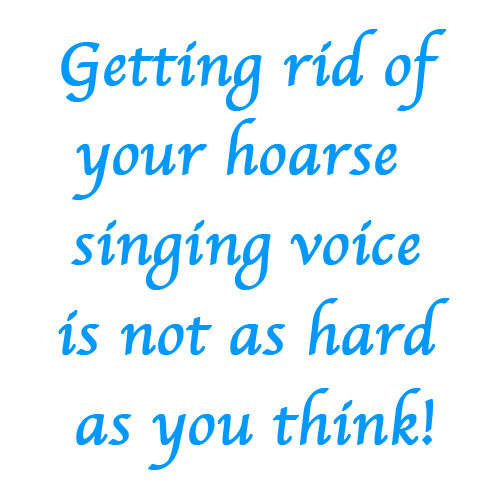 hoarse singing voice joy sikorski